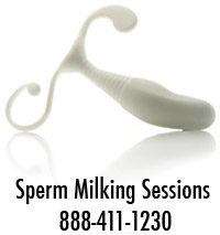 Sperm milking
