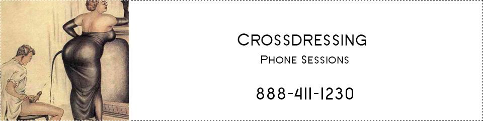 Phone sex for cross dresser