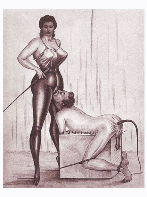 Female domination secretary